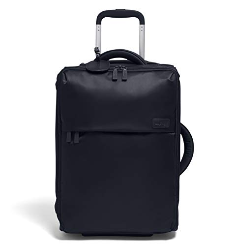 Lipault - 0% Pliable Foldable Upright 55/20 Luggage - Carry-On Rolling Bag for Women - Navy