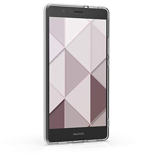 kwmobile Huawei P9 Lite Hülle - Handyhülle für Huawei P9 Lite - Handy Case in Glory Dreieck Muster Design Rosa Rosegold Weiß - 2