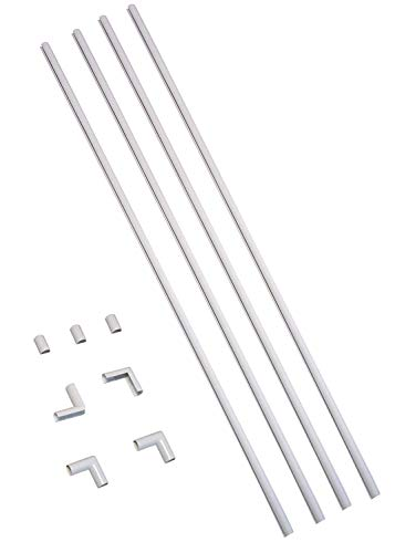 Legrand - Wiremold Kit Cordmate, Organizer and Hider, Cover, Concealer, and Protector for Wall, Single Cord, CMK10, Paintable