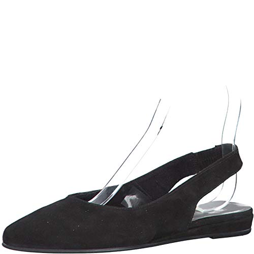 Tamaris Damen Pumps 79406-24, Frauen Sling-Pumps, Komfort Damen Frauen weibliche Lady Ladies feminin elegant Women's Women Woman,Black,40 EU / 6.5 UK