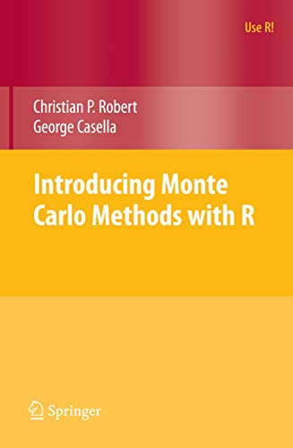 Introducing Monte Carlo Methods with R (Use R!)