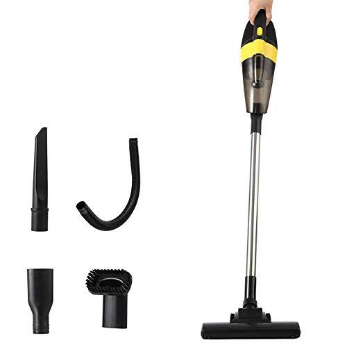 Inalámbrica doméstica pequeña y una aspiradora conveniente, de mano silenciosa de alta potencia Mite La eliminación limpiador, aspiradora HEPA lavable Multi-funcional (Color: Amarillo) (Color: Amarill