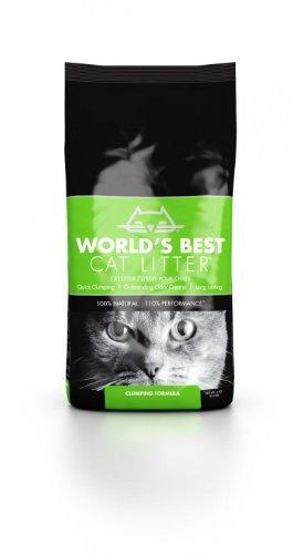 World\'s Best Cat Litter Katzenstreu, Klumpstreu, 3.18 kg