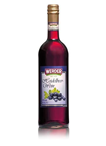 WERDER Heidelbeer Wein 0,75L - Alk. 9% vol