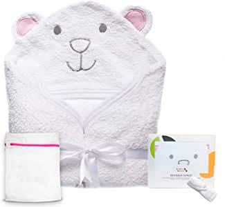 Organic Hooded Baby Towel (Includes...