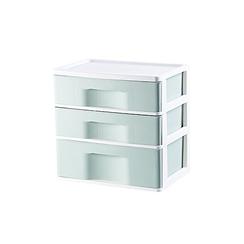 Lijuan Le Mutande Di Plastica Trasparente, Guardaroba, Mutande, Mutandine E Unita Cassetto Stile Raccolta Scatole,Tre Strati,Green