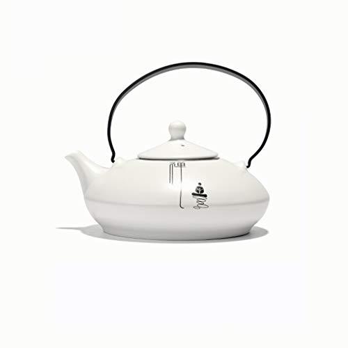 Stainless steel filter ceramic teapot Large capacity ceramic jug cold kettle heat-resistant beam pot CHAJU