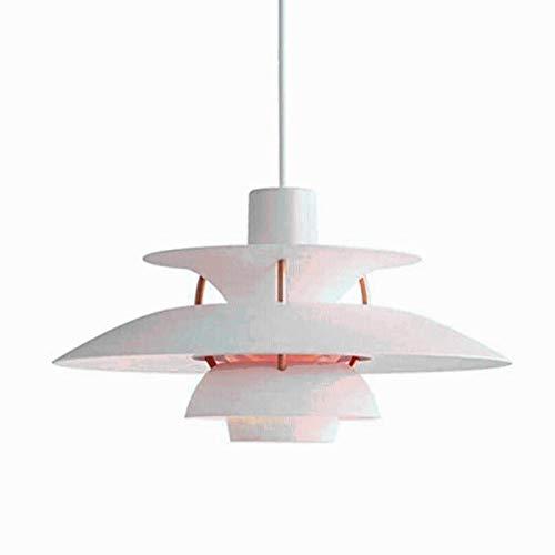BHZT Lámpara Colgante PH5, candelabro LED E27 Moderno nórdico, candelabro de Aluminio, diseño de Dinamarca, Restaurante, iluminación degradada, decoración del hogar