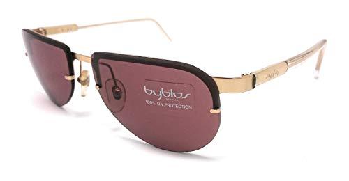 Byblos - Gafas de sol para mujer by 730 - S rojo y oro 3001-S/75
