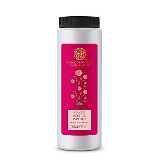 Forest essentials Silken Dusting Powder Indian Rose Absolute 100 gms
