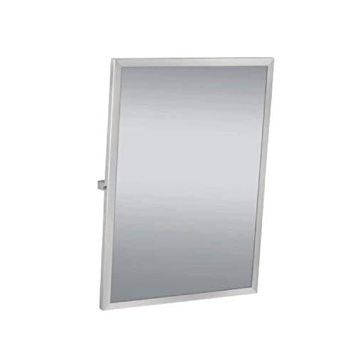 Uzman-Versand, Edelstahl 304 Kippspiegel 500 x 700 mm, Spiegel Badartikel, Bad Zubehör Badezimmer (Kippspiegel)