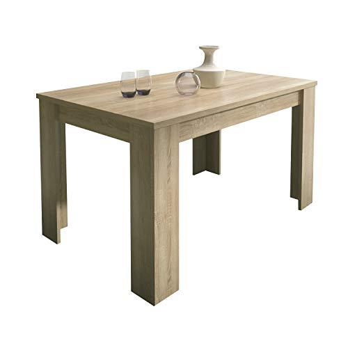 HomeSouth - Mesa de Comedor Extensible, Modelo Corfu Color Cambria, Medidas Mesa: 138 x 76 x 88 cm de Fondo