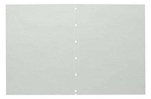 キングジム 7102T クリアーファイル ヒクタス±スティック・タイプ用ポケット(台紙なし) B5タテ 6穴 10ポケット(5枚)入 おまとめセット【3個】