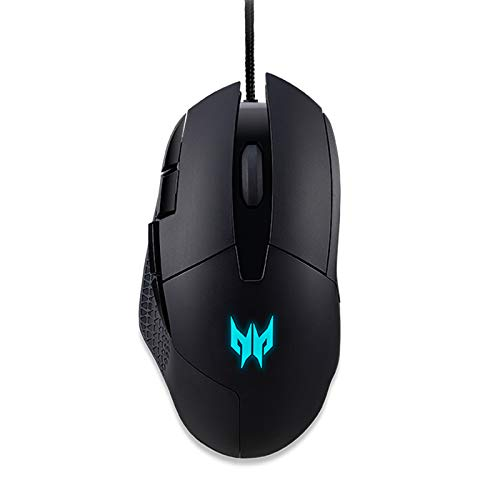 Acer Predator Cestus 315 Gaming Mouse with PixArt Sensor, Adjustable DPI & 8 Buttons Including Burst Fire