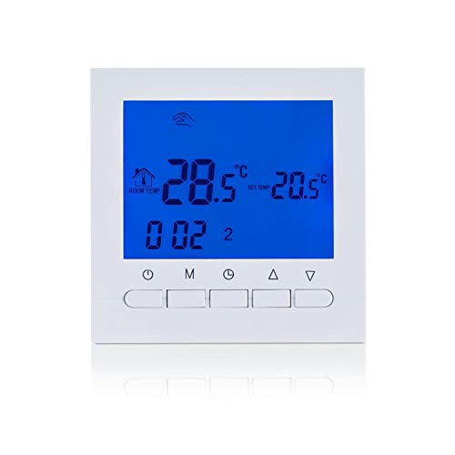 Amusingtao Digitaler Thermostat Praktisch Genau Home Smart Temperature WiFi APP Kontrollraumheizung Elektronisch...