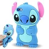 ZIMA Coque Housse Etui en Silicone Pour Iphone 6 / 6S ( 4,7'' ) - Lilo & Stitch - Bleu