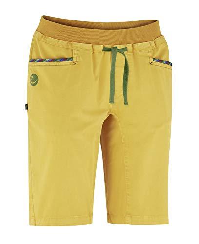 EDELRID Damen Glory Shorts, Golden Yellow, S