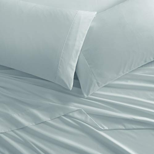 Brielle Home Super Soft Easy Care Brushed Microfiber Sheets Collection, King, Slate