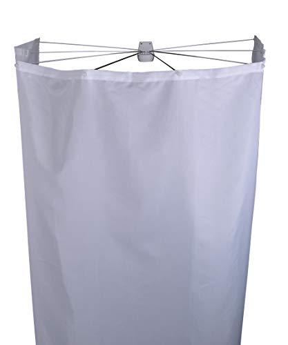 RIDDER Duschfaltkabine Ombrella Textil Madison weiß 210x180 cm