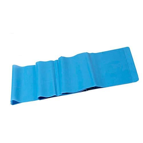 Yoga Spanband Elastische Band Fitness Mannen En Vrouwen Weerstand Band Krachttraining Spanband Latex Spankabel Trekstuk,Blue,1500mmx150mmx0.35mm