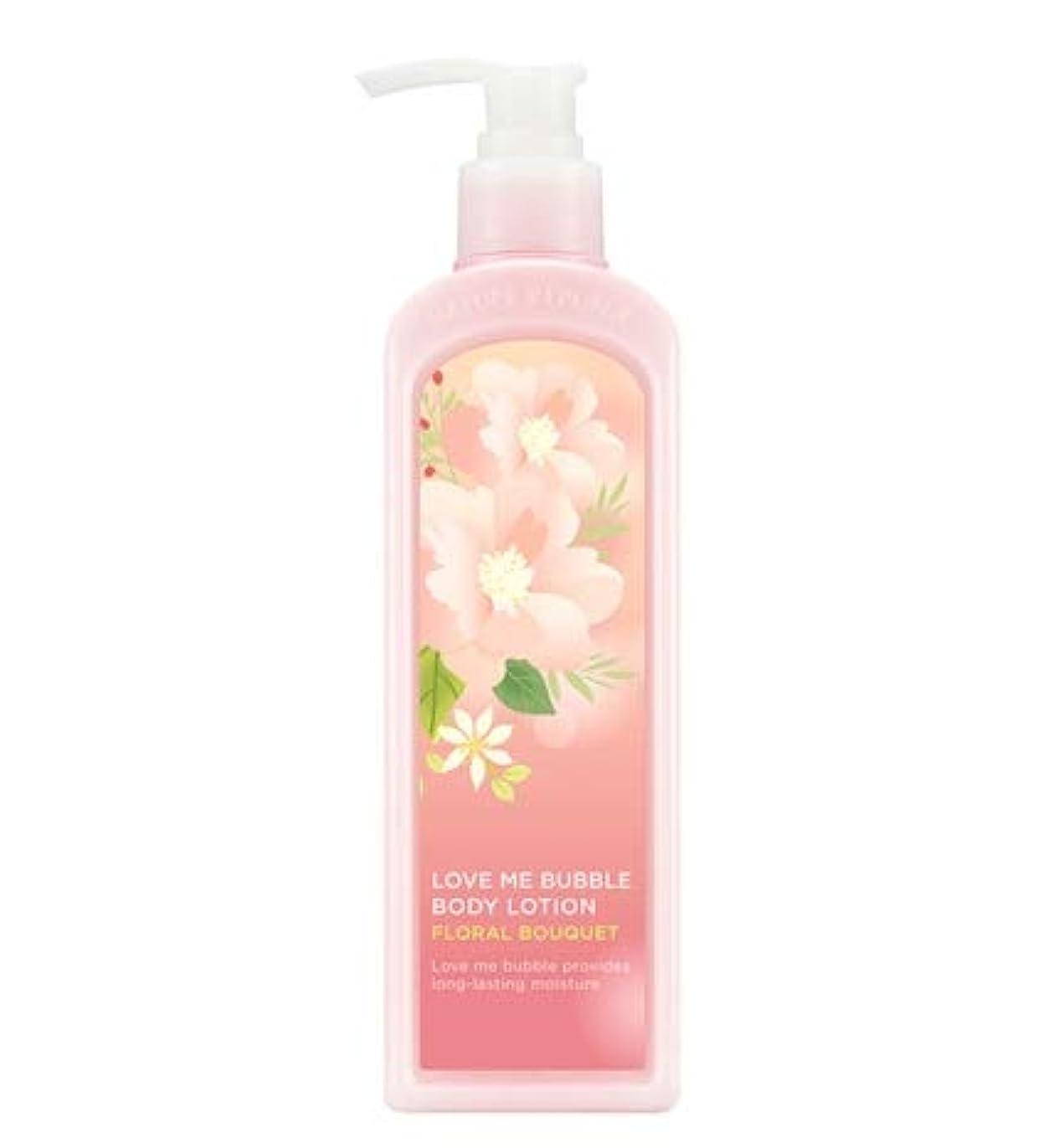 鼻個人的に複雑でないNATURE REPUBLIC Love Me Bubble Body Lotion-Floral bouquet ネイチャリパブリックラブミバブルボディーローション [並行輸入品]