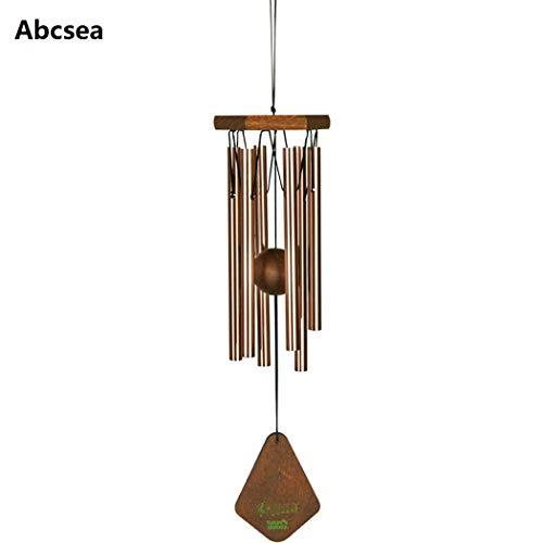 Abcsea oro rosa windbell,campanas de viento tubulares,