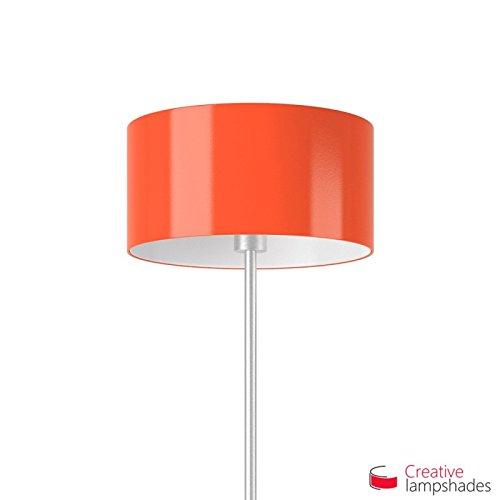 Oranje Lumiere Cilinder Lampenkap E27 voor basis of hanger Diameter 50cm - H. 25cm