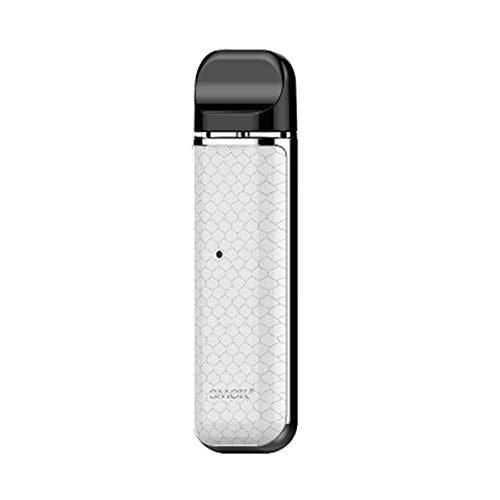 Original Smok Novo Pod Kit, E Cigarette Kit Atomizer 2ml eingebaut 450mAh Batterie mit 2 Pod/Ohne Nokotin Ohne Tabak (White)