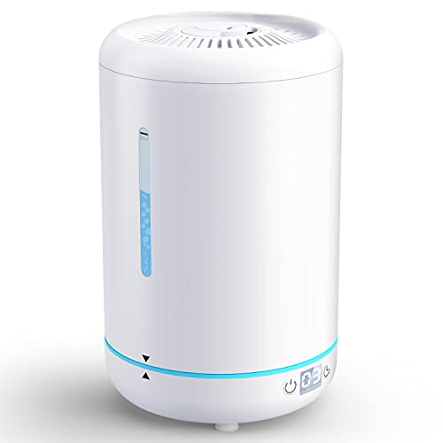 Cool Mist Humidifier for Bedroom, Top Fill Humidifiers with...