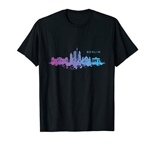 T-Shirt Berlin | Skyline Hauptstadt Berliner Geschenk Spruch T-Shirt