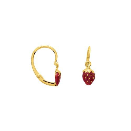 9K8386–Pendientes De Aro de Oro Amarillo de 9 ct