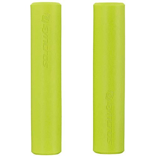 Syncros Silicone Fahrrad Griffe Radium gelb