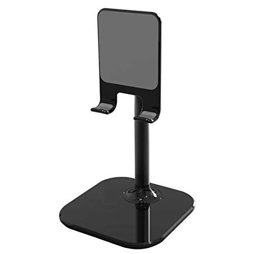 Universal-Desktop-Telefon-Ständer Tablet & Handy Ständer Tisch,Smartphone Ständer Schreibtisch, Tragbar Handy Halterung Handy handyhalter für Alle Handy, Tablet Kompatibel mit Allen Smartphones