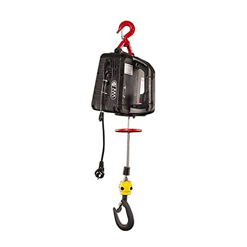 Motor Polipasto 500KG Polipasto eléctrico Portátil Torno Manual Bloque de tracción Cuerda de Alambre de Acero eléctrico Polipasto de elevación Cuerda de Remolque 220V / 110V para Garaje (ESP