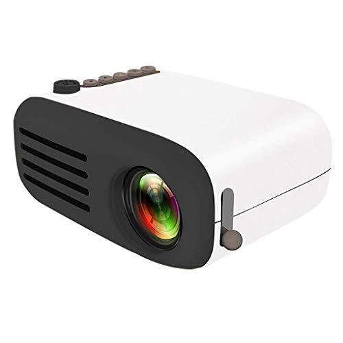 ZZNNN El Mini proyector Portable, vídeo del proyector Proyector del Teatro casero,...