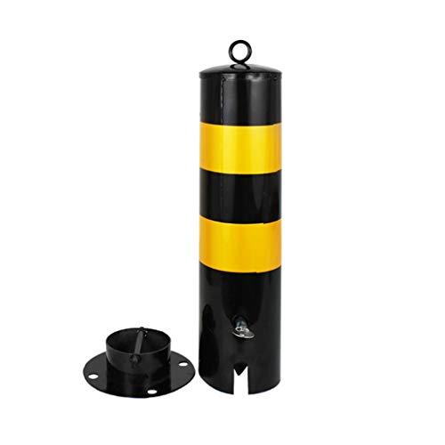 Bolardo de seguridad para automóviles Bolardos metálicos de servicio pesado for estacionamiento seguro en carril e interceptores de estacionamiento (columna recta) noray