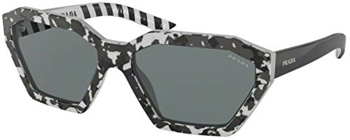 Ray-Ban 0PR 03VS Occhiali da Sole, Blu (Camuflage Black), 57.0 Donna