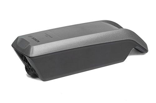 Bosch Gepäckträgerakku PowerPack Frame inklusive Gefahrgutkarton und Bedienungsanleitung, Platinum, 400 Wh, 275007510
