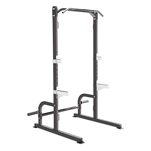 Marcy Olympic Cage Home Gym System – Multifunction Squat Rack, Customizable Training Station SM-8117, One Size