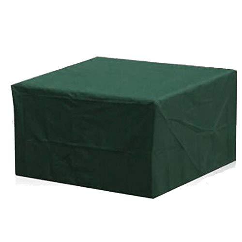 WFIT Cubierta Muebles De Jardín Impermeable, Tela De Poliéster para Cenar Al Aire Cover Set Cubierta del Patio a Prueba De Polvo/a Prueba De Viento/Anti-UV Rectangular/Ovalada