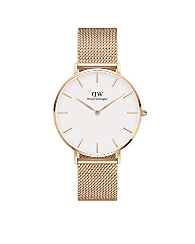 Daniel Wellington Petite Melrose Rose Gold Watch, 32mm, Mesh, for Men and Women