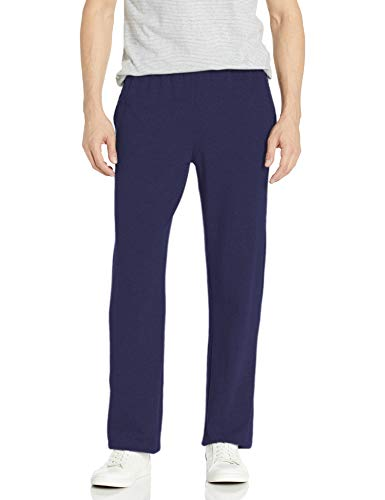 Hanes Men's Jersey Pant, Navy, XX-Large