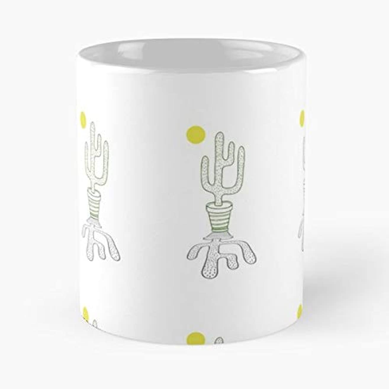 Cactus Californi Los Angeles - 11 Oz Coffee Mugs Ceramic The Best Gift For Holidays, Item Use Daily