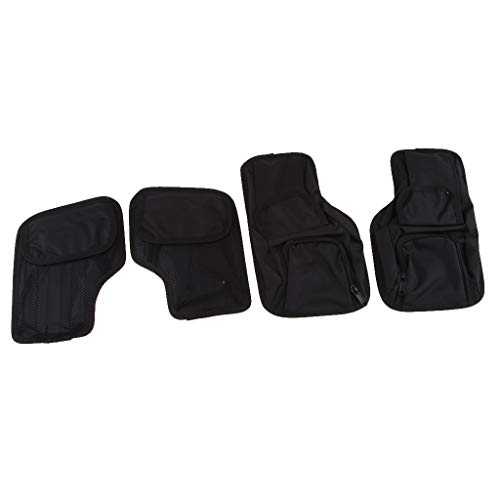 FLAMEER Taschenorganizer Handtaschen-Organizer Innentasche Organizer Satteltasche schwarz