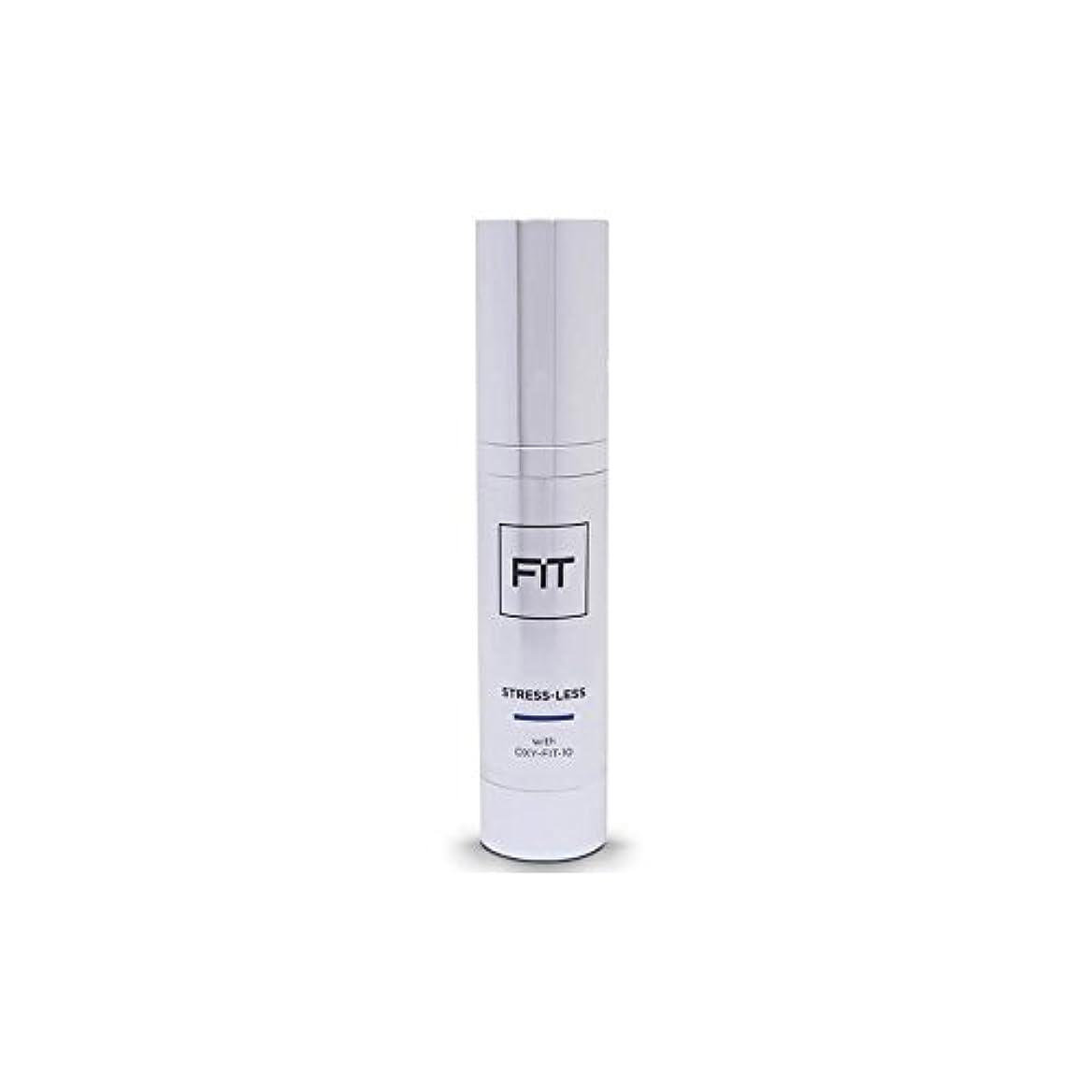 慰めオーラル草フィットストレスレス目の血清20ミリリットル x4 - Fit Stress Less Eye Serum 20ml (Pack of 4) [並行輸入品]