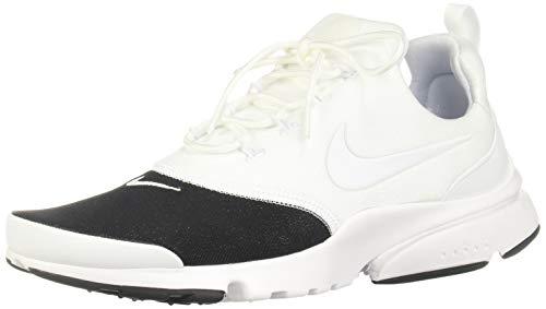 Nike Wmns Presto Fly Prm, Scarpe da Ginnastica Basse Donna, Multicolore White/Metallic Silver/Black 001, 41 EU