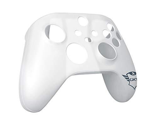 Trust Gaming GXT 749 Funda Silicona para Mando Xbox, Carcasa Suave Cubierta Antideslizante Protectora para Mando Controlador de Xbox Series X (S), Xbox One (X) - Transparente