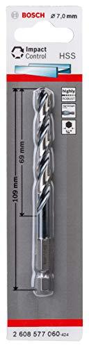 Bosch Professional Impact Control HSS Spiraalboor (voor metaal, 7 x 69 x 109 mm, accessoire klopboormachine)