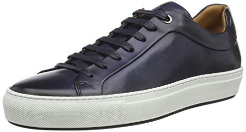 BOSS Herren Mirage Tenn In Italien gefertigte Sneakers aus poliertem Leder Größe 42