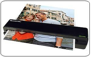 Pandigital 8.5 Inch x 11 Inch PANSCN06 BLACK Personal Photo Scanner